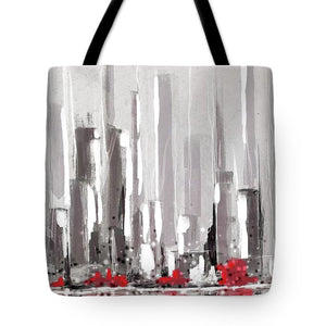 Abstract Cityscape Painting - 1 - Tote Bag