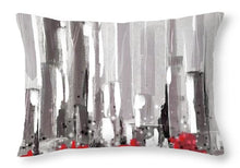 Load image into Gallery viewer, Abstract Cityscape Painting - 1 - Throw Pillow