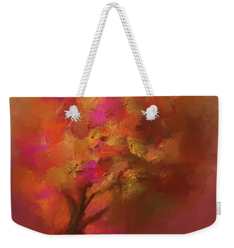 Abstract Colourful Tree - Weekender Tote Bag