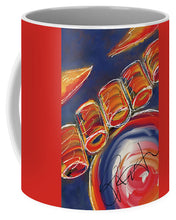 Load image into Gallery viewer, Abstract Red Drums - Mug