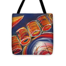 Load image into Gallery viewer, Abstract Red Drums - Tote Bag
