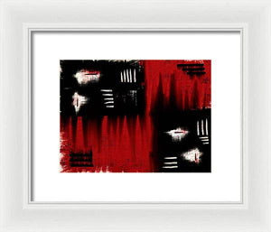 Architectonic Dimension - Framed Print