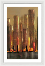 Load image into Gallery viewer, Big City Sunset - Framed Print
