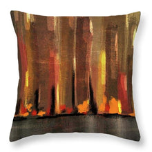 Load image into Gallery viewer, Big City Sunset - Throw Pillow