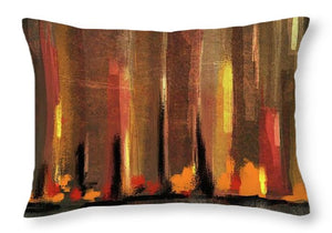 Big City Sunset - Throw Pillow