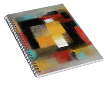 Load image into Gallery viewer, Boxed In - Spiral Notebook