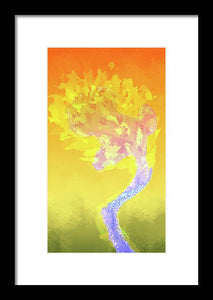 Burning Desire - Framed Print