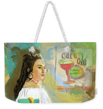 Load image into Gallery viewer, Cafe Ole Girl - Weekender Tote Bag