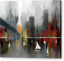 Load image into Gallery viewer, City Glow - Canvas Print
