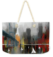 Load image into Gallery viewer, City Glow - Weekender Tote Bag