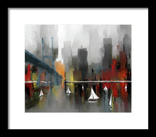 Load image into Gallery viewer, City Glow - Framed Print
