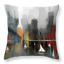 Load image into Gallery viewer, City Glow - Throw Pillow