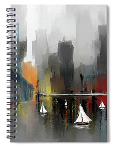 City Glow - Spiral Notebook
