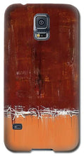 Load image into Gallery viewer, Copper Field Abstract Painting - Phone Case