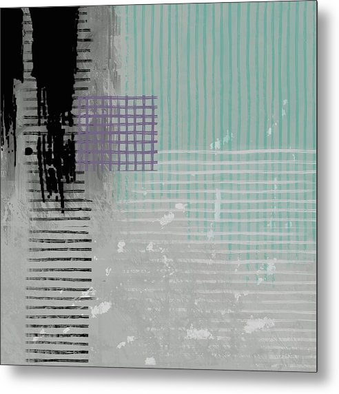 Corporate Ladder - Metal Print