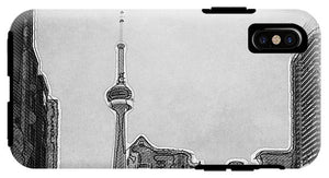Downtown Toronto in BW - Phone Case