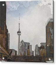 Load image into Gallery viewer, Downtown Toronto in color - Acrylic Print