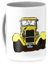 Load image into Gallery viewer, Early 1930s Ford Yellow - Mug
