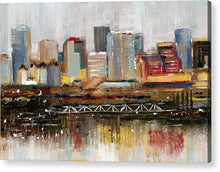 Load image into Gallery viewer, Edmonton Skyline Abstract1 - Acrylic Print