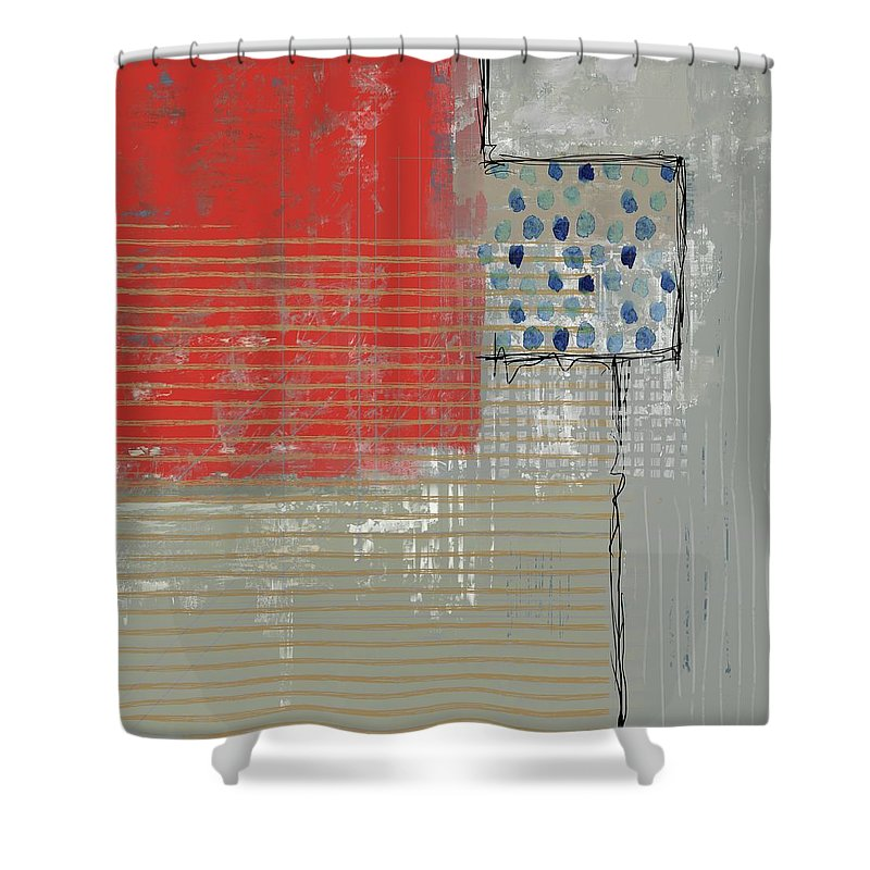 Evening Red - Shower Curtain