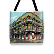 Load image into Gallery viewer, Guitar Player on Bourbon Street - Tote Bag