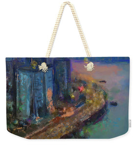 Hong Kong Skyline Painting - Weekender Tote Bag