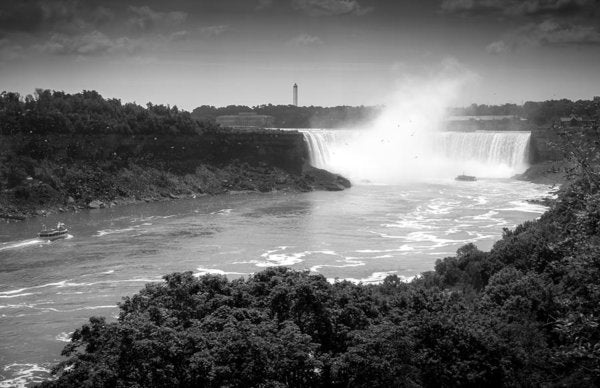 Horseshoe Falls - Art Print