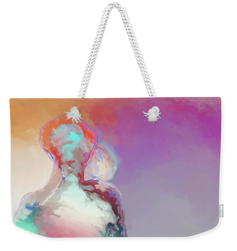 Humanoid Couple On Cloud Nine - Weekender Tote Bag