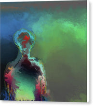 Load image into Gallery viewer, Humanoid In The Fifth Dimension - Canvas Print