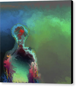 Humanoid In The Fifth Dimension - Canvas Print