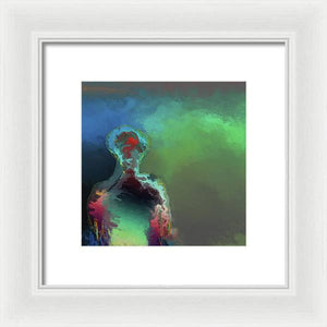 Humanoid In The Fifth Dimension - Framed Print