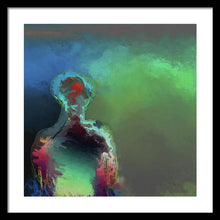 Load image into Gallery viewer, Humanoid In The Fifth Dimension - Framed Print
