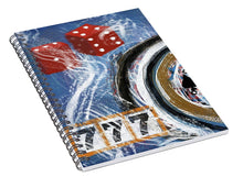 Load image into Gallery viewer, Impressionist Casino - Spiral Notebook