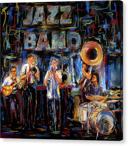 Jazz Band - Canvas Print