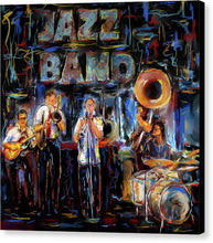 Load image into Gallery viewer, Jazz Band - Canvas Print