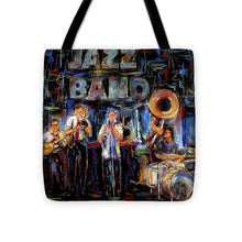 Load image into Gallery viewer, Jazz Band - Tote Bag