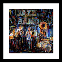 Load image into Gallery viewer, Jazz Band - Framed Print