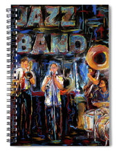 Load image into Gallery viewer, Jazz Band - Spiral Notebook