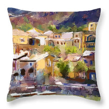 Load image into Gallery viewer, Lakeside Village - Throw Pillow