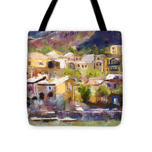 Load image into Gallery viewer, Lakeside Village - Tote Bag
