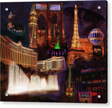 Load image into Gallery viewer, Las Vegas Collage - Acrylic Print