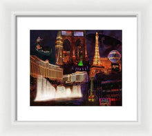 Load image into Gallery viewer, Las Vegas Collage - Framed Print
