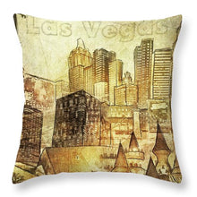 Load image into Gallery viewer, Las Vegas Collage Three - Throw Pillow