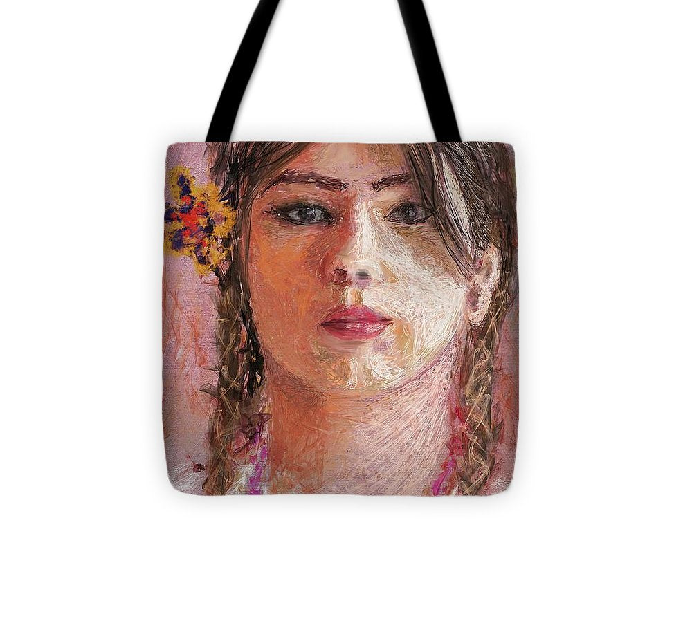 Mexican Girl - Tote Bag