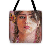 Load image into Gallery viewer, Mexican Girl - Tote Bag