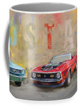 Load image into Gallery viewer, Mustang Panorama Painting - Mug