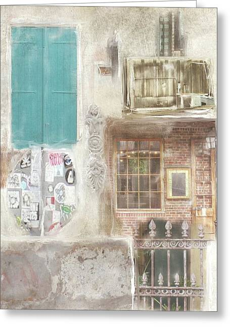 New Orleans Fragments - Greeting Card