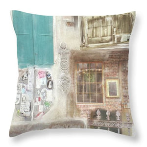 New Orleans Fragments - Throw Pillow