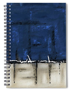 Once In A Blue Moon - Spiral Notebook