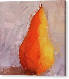 Pear Study - Canvas Print